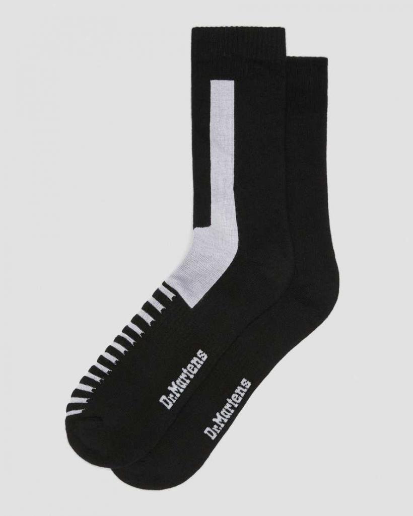 Kleidung für Herren Dr Martens Athletic Weiss Socken Mit Logo SS2020